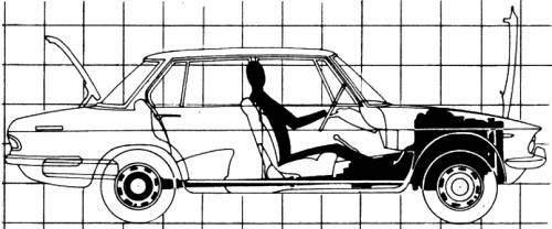Blueprints > Cars > Mazda > Mazda 929 Luce 1500 (1968)