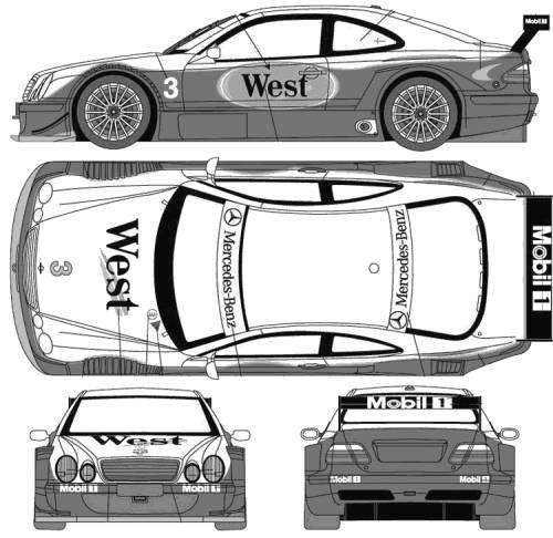 Blueprints > Cars > Mercedes-Benz > Mercedes-Benz CLK DTM