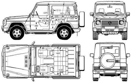 Blueprints > Cars > Mercedes-Benz > Mercedes-Benz G-Wagen