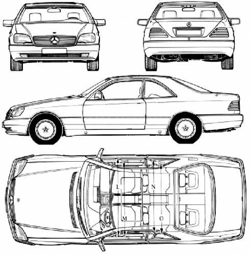 Blueprints > Cars > Mercedes-Benz > Mercedes-Benz SCL