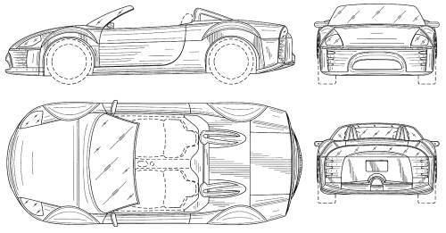 Blueprints > Cars > Mitsubishi > Mitsubishi Eclipse Cabrio