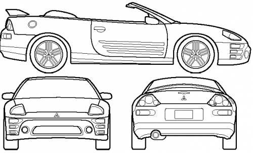 Mitsubishi Eclipse Convertible (2001)