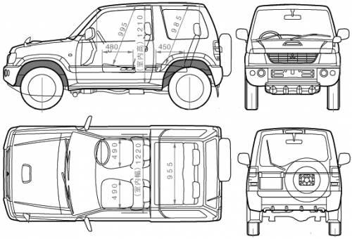 Mitsubishi Pajero Mini (2005)