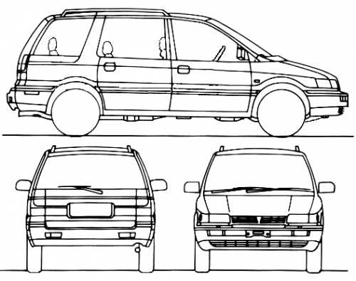 Mitsubishi Space Wagon (1991)