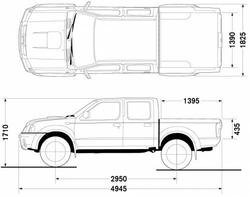 Nissan Frontier Double Cab 4x4 Look (2007)