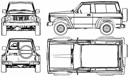 Blueprints > Cars > Nissan > Nissan Patrol GR (1980)