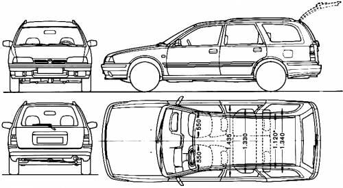 1990 Nissan Primera 1.6LS Estate related infomation