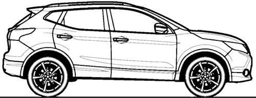 Blueprints > Cars > Nissan > Nissan Qashqai (2014)