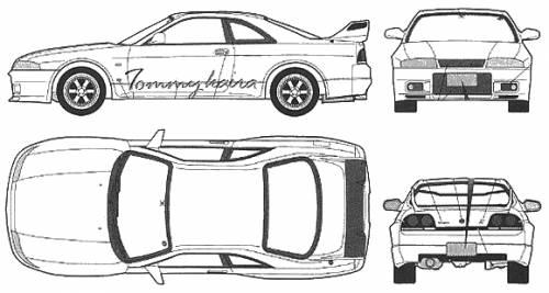 Nissan Skyline GT-R R33 Tommy Kaira