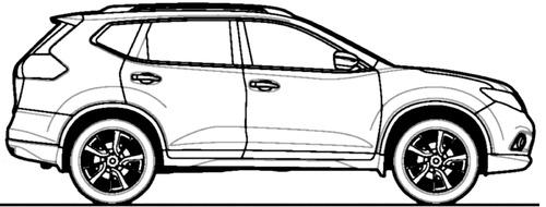 Blueprints > Cars > Nissan > Nissan X-Trail (2014)