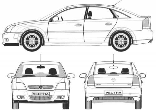 Blueprints > Cars > Opel > Opel Vectra GTS