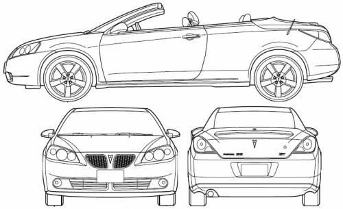 Blueprints > Cars > Pontiac > Pontiac G6 Convertible (2007)