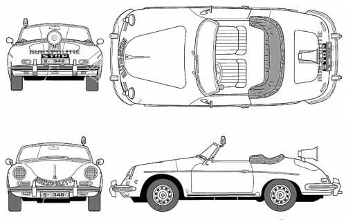 Blueprints > Cars > Porsche > Porsche 356B Patrol Car
