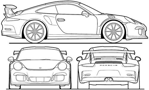 Blueprints > Cars > Porsche > Porsche 911 GT3 RS (2016)