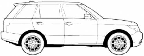 Blueprints > Cars > Range Rover > Range Rover Sport (2015)