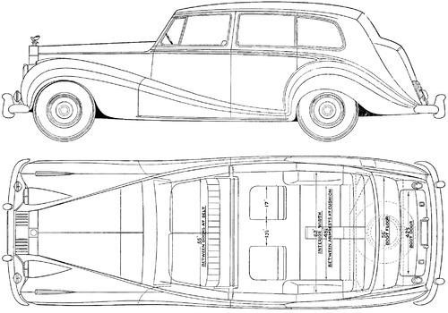 Blueprints > Cars > Rolls-Royce > Rolls-Royce Silver