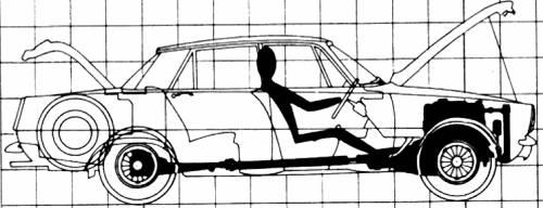 Blueprints > Cars > Rover > Rover P6 TC (2000)