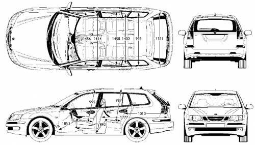 kingston: Saab 9 3x Sportcombi