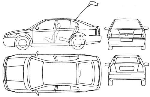 Blueprints > Cars > Skoda > Skoda Octavia