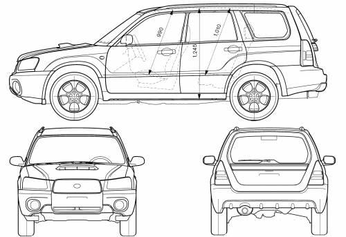 Subaru Forester Dimensions