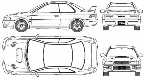 Subaru Impreza WRX 2-Door (1998)