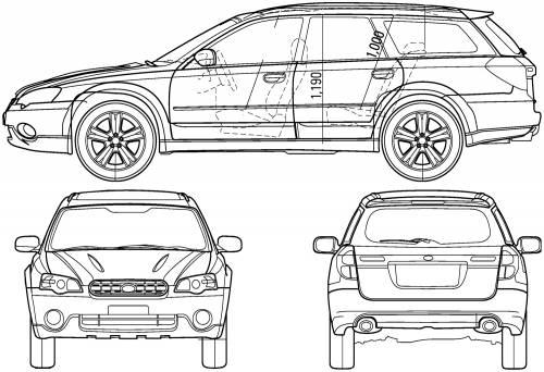MAHO CAR: Subaru Legacy Wagon 1996