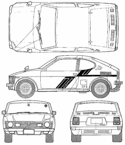 Blueprints > Cars > Suzuki > Suzuki Sc-100 Whizzkid