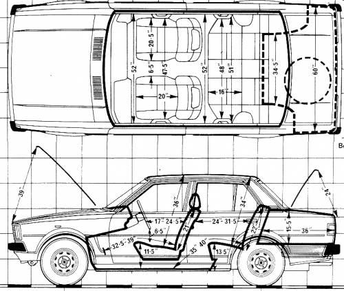 Blueprints > Cars > Toyota > Toyota Corolla 1.3 4-Door (1980)