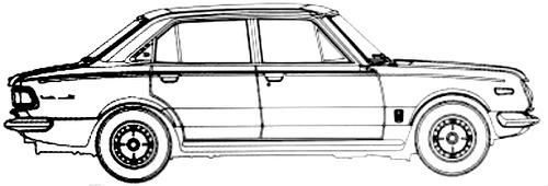Blueprints > Cars > Toyota > Toyota Corona Mark II DX (1900)