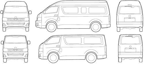 Toyota Hiace Van Interior Measurements