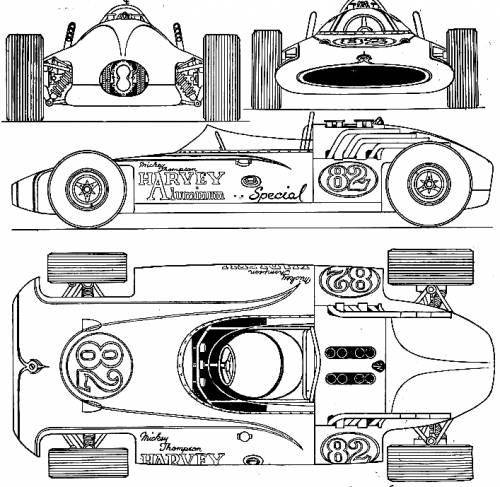 Blueprints > Cars > Various Cars > Harvey Aluminum V8