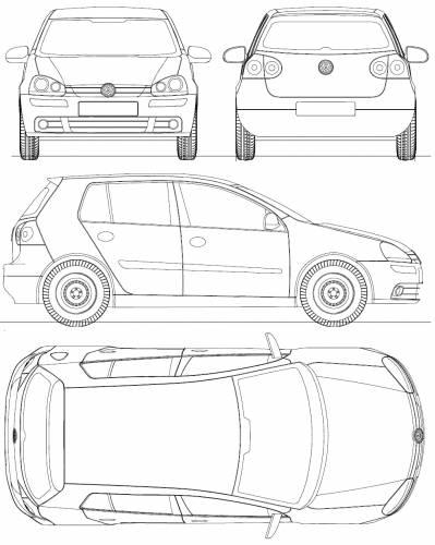 Volkswagen Golf Mk. 5 5-Door (2004)