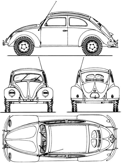 Blueprints > Cars > Volkswagen > Volkswagen Kdf.7 Kfz.1