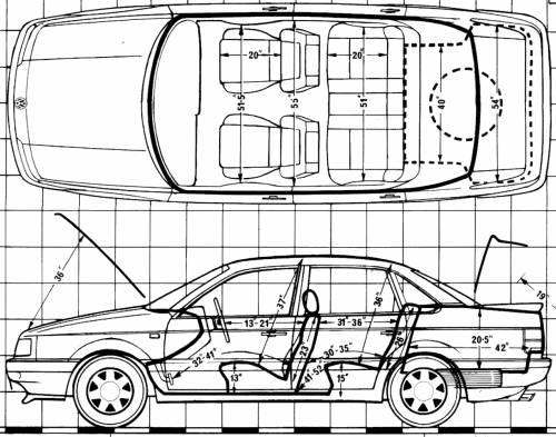 Blueprints > Cars > Volkswagen > Volkswagen Passat 1.8 GT