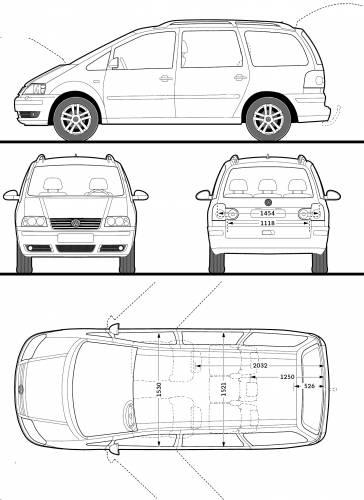 volkswagen sharan 2009 ~ World Activity