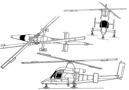 Blueprints > Helicopters > Kaman > Kaman K-MAX K-1200