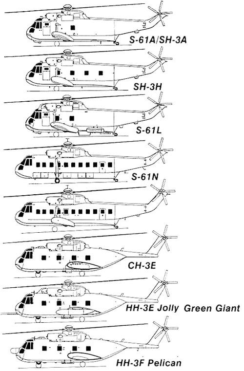 Blueprints > Helicopters > Sikorsky > Sikorsky S-61 Sea King
