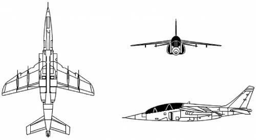 Blueprints > Modern airplanes > Dassault > Dassault