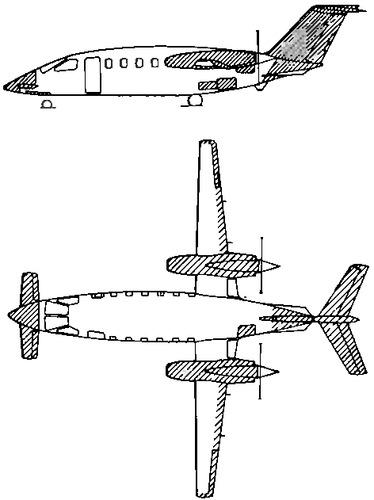 Blueprints > Modern airplanes > Modern G > Gates-Piaggio P