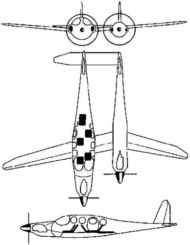 Blueprints > Modern airplanes > Modern Sa-St > Scaled