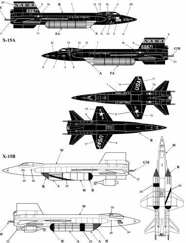 Blueprints > Modern airplanes > North American > North