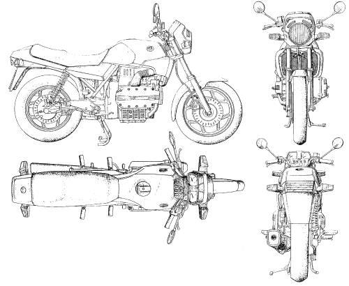 Blueprints > Motorcycles > BMW > BMW 02