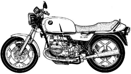 Blueprints > Motorcycles > BMW > BMW R65 Monolever (1978)
