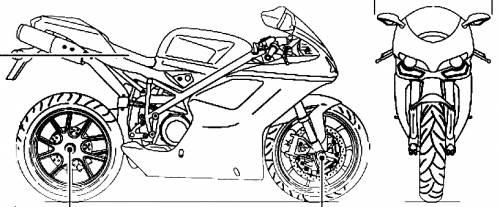 Blueprints > Motorcycles > Ducati > Ducati Superbike 848