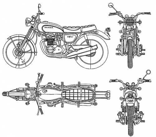 Honda CB500 Four (1971)