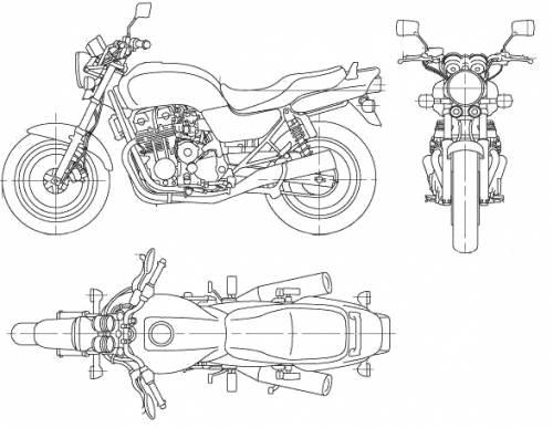 Honda CB750 (2006)