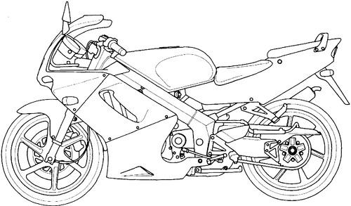 Blueprints > Motorcycles > Honda > Honda NSR 150SP (2002)