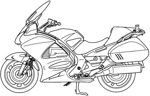 Blueprints > Motorcycles > Honda > Honda ST 1300PA Police
