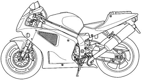 Blueprints > Motorcycles > Honda > Honda VTR 1000SP-2 (2002)