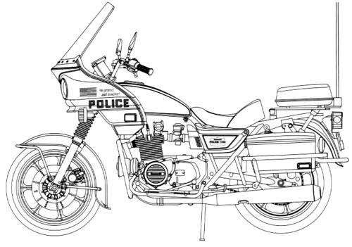 Blueprints > Motorcycles > Kawasaki > Kawasaki KZ1000C2